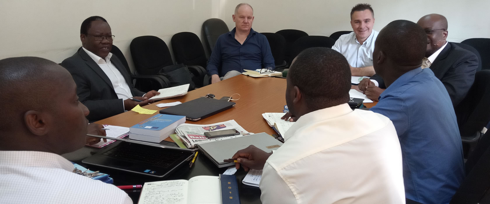 Team from University of York – Center for Health Economics (CHE) visits MakSPH